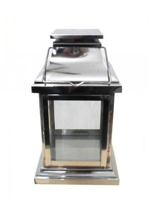 8 Inches Stainless Steel Candle Lantern