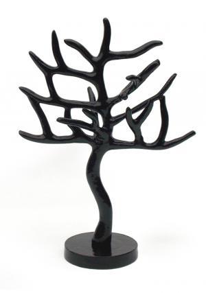 Aluminium Black Tree Jewellery Stand Organizer