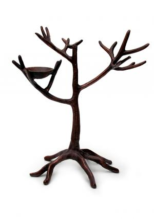 Aluminium Jewelry Tree Stand with Nest
