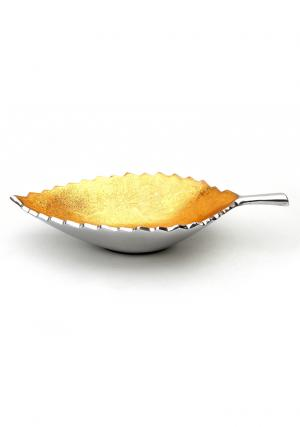 Aluminium Leaf Shaped Bowl