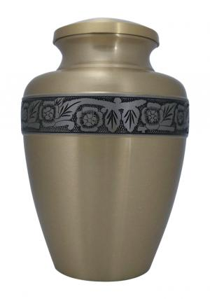Avalon Bronze Large Adult Urn For Human Ashes, Funeral Urn