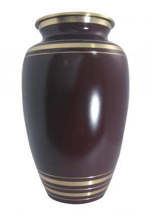 Big Elite Garnet Red Adult Cremation Urn Ashes