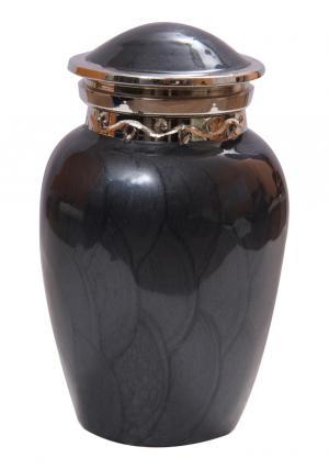 Mini Blessing Black Keepsake Urn Ashes