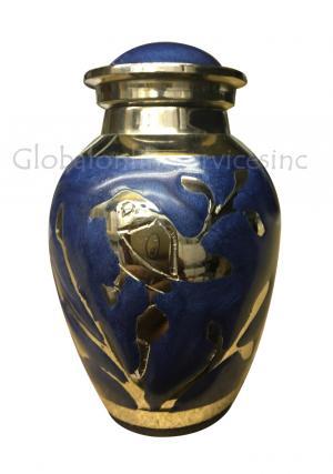 Blessing Silver Birds Small Keepsake Urn