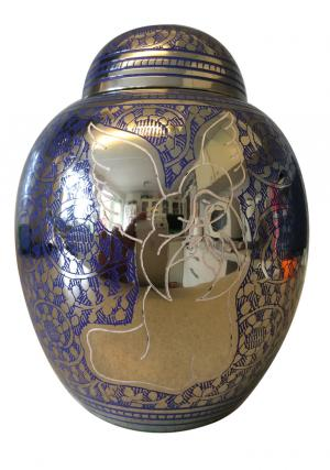Blue Angel Child Cremation Urn