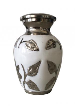 Brampton White Keepsake Urn