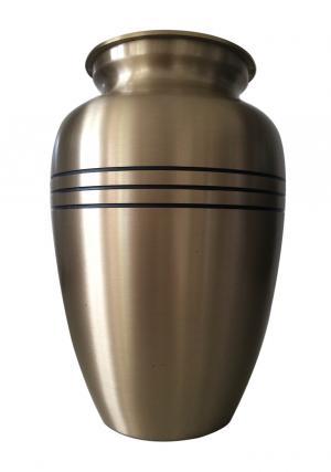 Classic Bronze Brass Adult Urn