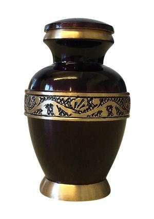 Classic Imperial Purple Keepsake Urn