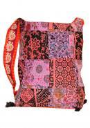 Cotton Design Handmade Embroidered Women Handbag, Dazzle