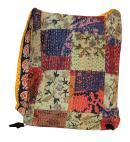 Cotton Design Handmade Embroidered Women Handbag with Multi Colors