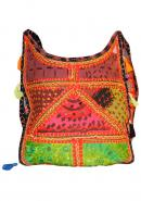 Cotton Handmade Designer Embroidered Women Handbag