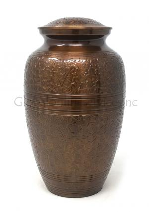 Creeping Leaves Adult Funeral Ashes Urn for Human Ashes