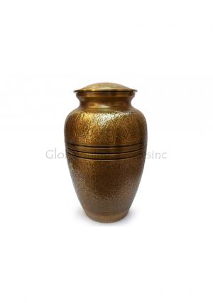 Creeping Leaves Keepsake Funeral Ashes Urn for Human Ashes