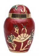 Dome Top Embossed Keepsake Urn