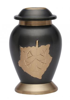Dove Falling Leaves Keepsake Urn