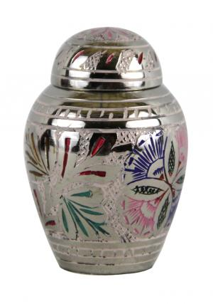 Farnham Flower Engraved Keepsake Urn