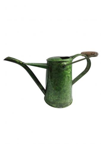 Glossy Green Galvanised Watering Cane