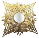 Gold Antique Neted Iron Mirror Frame