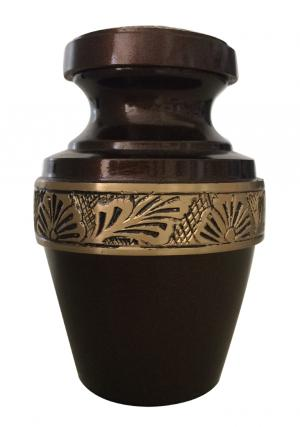 Grecian Brown Keepsake Urn