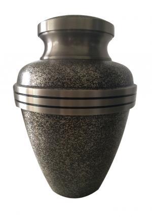 Harlow Black Brass Cremation Adult Urn