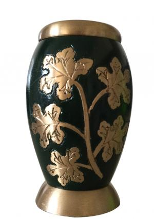 Ivy Leaves Green Color Keepsake Urn
