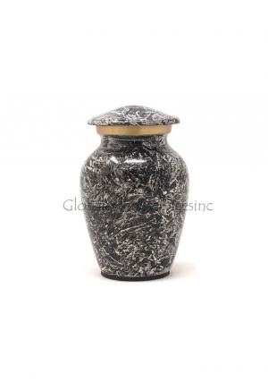 Keepsake Ashes Container Funeral Brass Urn for Human Ashes
