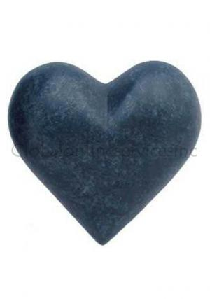 Marble Heart Keepsake Brass Urn for Cremated Ashes