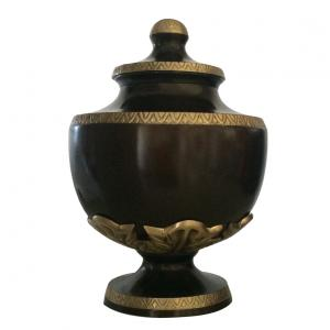 Matt Brown Colour Brass Adult Urn