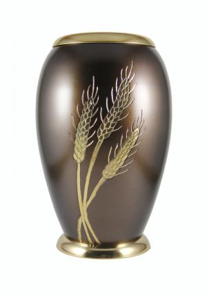 Monarch Wheat Large Urn for Adult Ashes