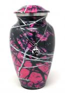 Moonshine Camo Aluniminum Cremation Urn+ Free jewellery Urn