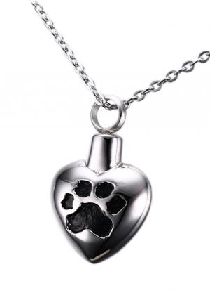 Pet Funeral Urn Jewellery Heart Pendant , Necklace or Heart Pendant Jewellery Urn For Pet Funeral Ashes, Necklace