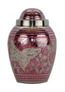 Portland Pink Engraved Keepsake Urn