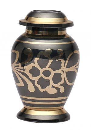 Rainbow Floral Keepsake Urn
