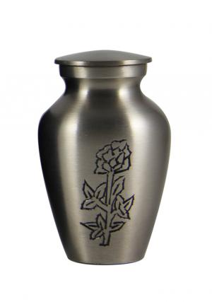 Small Keepsake Urn: Blossoming Rose