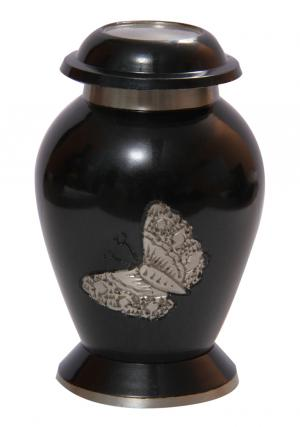 Small Soaring Butterfly Funeral Urn for Human Ashes
