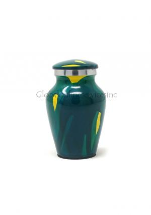 Star-dust Aluminium Keepsake Cremation Urn for Ashes.