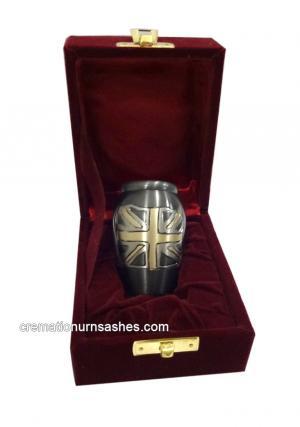 UK Flag Keepsake Urn
